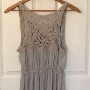 Calypso St.Barth Silk Dress sleeveless gray size M